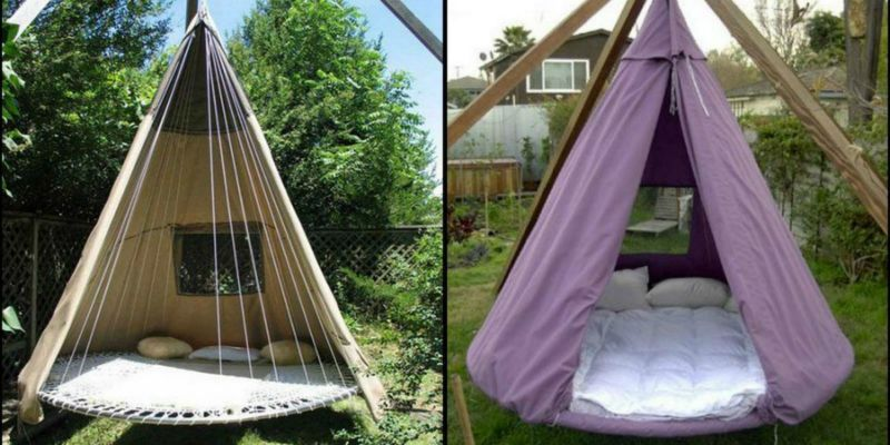 You Need to See How People Are Upcycling Their Trampolines ...