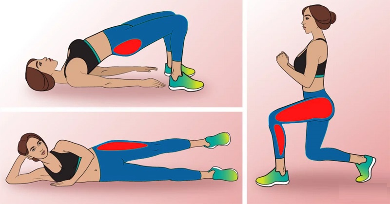 This Barre Workout Sculpts Your Butt And Thighs